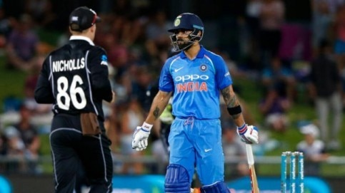 India tour of New Zealand 2019: Rohit Sharma will lead India in the last two ODIs and the subsequent T20I series in the absence of Virat Kohli (AP Photo)