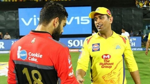 MS Dhoni's Chennai Super Kings stretched their unbeaten streak to 7 matches vs Royal Challengers Bangalore (BCCI Photo)