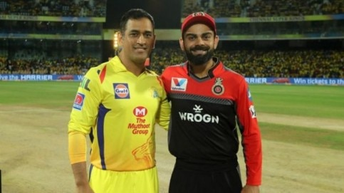 IPL 2019: MS Dhoni and Virat Kohli were among the most-talked-about players on Twitter (<b> Courtesy by BCCI</b>)