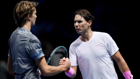 Rafael Nadal lost to Alexander Zverev in opener. (Reuters Photo)
