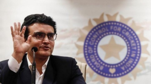 BCCI President Sourav Ganguly will join the meeting from his Kolkata residence (Reuters Photo)