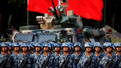 Troops prepare for the arrival of Chinese President Xi Jinping at the People's Liberation Army (PLA) Hong Kong Garrison. Photo: Reuters