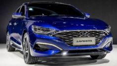 The Lafesta is based on the Hyundai Elantra, although featuring a different suspension set-up.