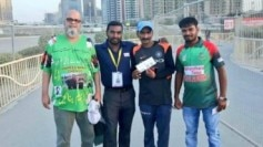 Sudhir Gautam is the Indian cricket team's superfan who took help from his Pakistani counterpart Chacha Chicago to reach Dubai