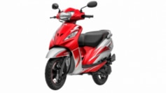 Designed for today's youth, the TVS WEGO gets completely new graphics and new color schemes.
