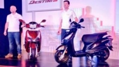 The Destini 125 will go head-on with the likes of Honda Activa 125, Honda Grazia, Suzuki Access 125, TVS NTorq, and the Aprilia SR125.
