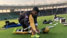 Umar Akmal during a practice session (Courtesy- TeamQuetta)