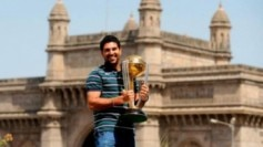 Yuvraj Singh's all-round heroics helped India win the 2011 World Cup.(Twitter Photo)