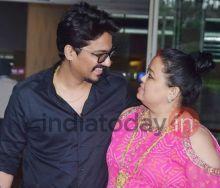 Bharti Singh and Haarsh Limbachiyaa