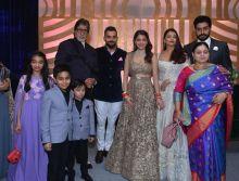 Amitabh Bachchan, Virat Kohli, Anushka Sharma, Aishwarya Rai Bachchan, Shweta Nanda