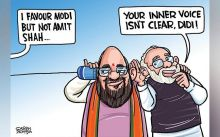 Satish Acharya cartoon