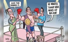 Satish Acharya Cartoons