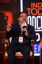 Akhil Ranjan Dutta at India Today Conclave 2017