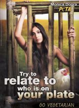 Monica Dogra in PETA advertisement