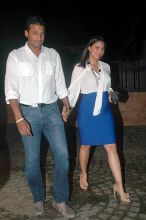 Lara Dutta with husband Mahesh Bhupati