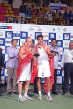 Bhupathi-Paes win Chennai Open double title.