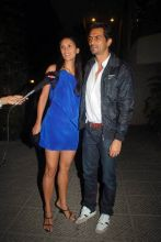 Meher Jessia and Arjun Rampal