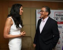 Padma Lakshmi, Aroon Purie, Editor-in-Chief, The India Today Group