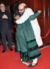 Jaya Bachchan and Mickey