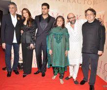 Aishwariya Rai Bachachan, Abhishek, Jaya, Mickey Contractor