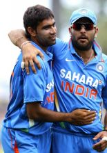 5 wickets between them: Munaf Patel and Yuvraj Singh.