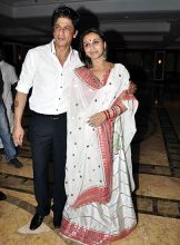 SRK and Rani Mukeerji