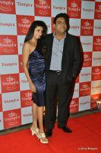 Gautami Gadgill with hsuabnd Ram Kapoor