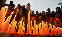 candlelight for Aarushi