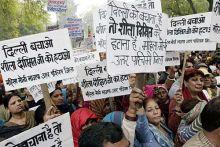 BJP protest in Delhi