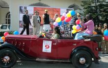 Jaipur: Rajasthan CM Ashok Gehlot flags of 13th vintage and classic car rally
