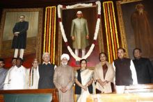 Paying homage to Morarji Desai
