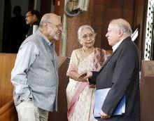 Shyam Benegal, Krishna Bose and M.S. Swaminathan