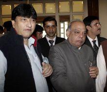Mangat Ram Singhal with Harun Yusuf