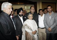 Sheila Dikshit with Delhi Cabinet ministers