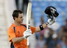 The Netherlands batsman Ryan ten Doeschate
