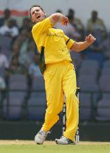 Australia paceman Shaun Tait