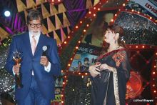 Madhuri and Amitabh Bachchan