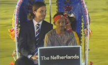 The Netherlands captain Peter Borren