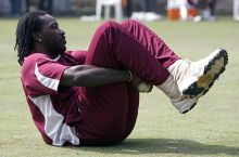 West Indies cricketer Chris Gayle