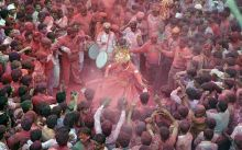 Holi celebrations in Rajasthan