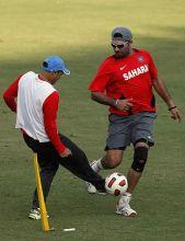 Yuvraj Singh and Virender Sehwag