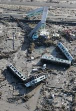 Eearthquake, tsunami devastated Japan