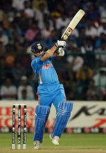 Sachin Tendulkar en route to his 38 against Ireland