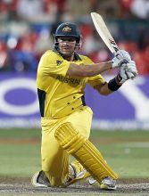 Australia opener Shane Watson en route to his 94