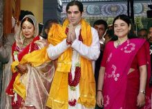 Varun Gandhi and Yamini Roy Chowdhury