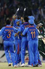 Team India wins