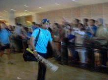 Team India, Sri Lanka leave Taj Palace Hotel for Wankhede Stadium