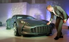 Aston Martin Launches in India