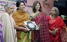Delhi Chief Minister Shiela Dikshit, Sharmila Tagore Pataudi, Kalpana Morparia