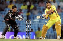 Chennai captain MS Dhoni